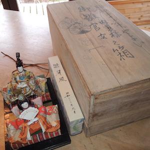 昭和23年弥生の雛人形