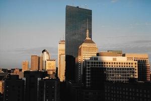 これよりボストン市内に入ります