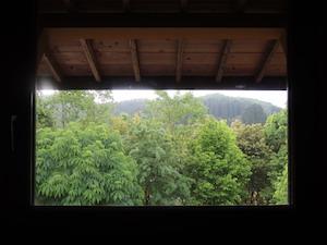 2階窓からの眺め