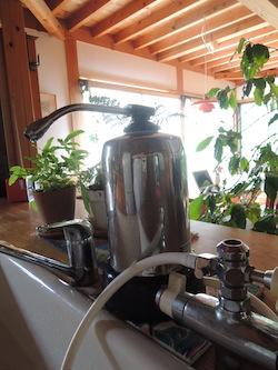 災害時に利用できる浄水器
