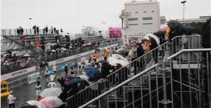 第1回東京マラソンゴール付近