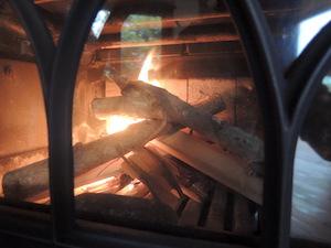 炉床の様子
