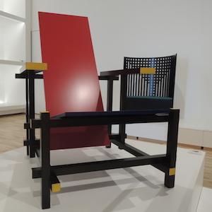 モンドリアンの椅子