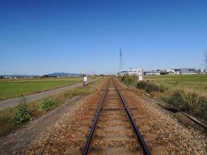 富山県の一風景_城端線