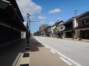 富山県の一風景_高岡山町筋
