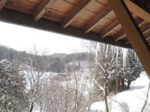 真冬日の朝
