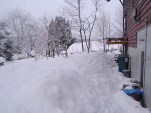 屋根雪山脈