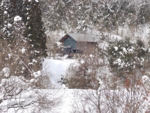 屋根の積雪0cm