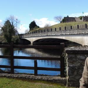 川向こうはアイルランド共和国