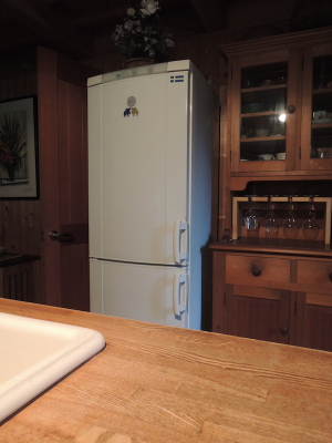 自動霜取り機能のない冷蔵庫